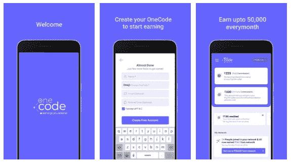 OneCode app
