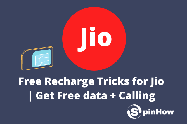 Free Recharge Tricks for Jio Get Free data and Calling